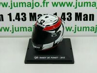 CM17G CASQUE MOTO GP 1/5  : RANDY DE PUNIET 2012 Shark