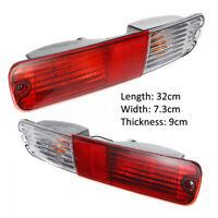 Left & Right Rear Bumper Bar Lamp Tail Light For Mitsubishi Pajero NP