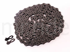 KMC X10SL DLC Black 10-Speed Bike Chain 116L Diamond Like Coating