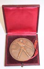 médaille bronze centenaire de la fondation de ponta-mousso 1856-1956 h. dropsy