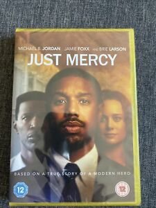JUST MERCY NEW SEALED DVD