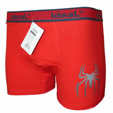 Funny Halloween Cotton Metal Rock Gothic Spider Boxer Shorts Prank Birthday Gift