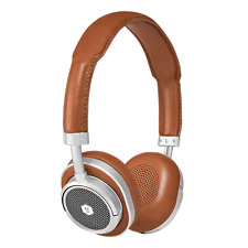 MASTER & DYNAMIC MW50 + Auricular Inalámbrico Silver Metal / Brown Leather Nueva