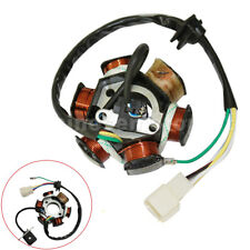 6 Poles 5 Wires Half-Wave Ignition Magneto Stator For 50cc-125cc ATV Quad Bike