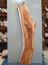 Waney Edge Live Edge Walnut Slab Board Kiln Dried Hardwood 2070 x 290-520 x 62mm