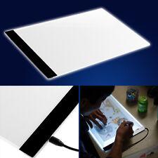 A4 LED Stencil Board Light Box Artist Art Tracing Drawing Copy Plate Table kids