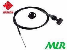 """Weber 1.8m M / 72"""" Largo Cable DEL ESTRANGULADOR & Soporte mlr.azv"""
