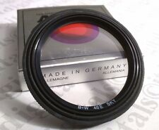 B+W 48mm 48E Rubber Lens Hood + SKY Skylight Filter Combo Germany 48 mm Shade