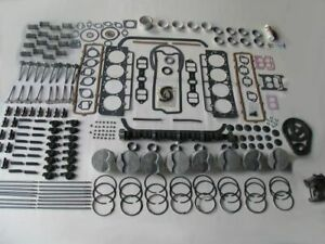 Deluxe Engine Rebuild Kit 1966-1968 Lincoln 462 V8 NEW 66 67 68 pistons valves
