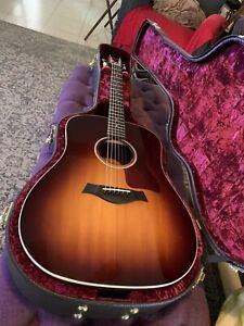 *REDUCED* Taylor 210e-DLX Dreadnought Acoustic-Electric Guitar Tobacco Sunburst