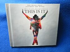 THIS IS IT MICHAEL JACKSON 2 CD'S