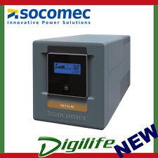 Socomec NeTYS PE 1000VA/600W LCD Line interactive UPS with AVR NPE-1000-LCD-AU