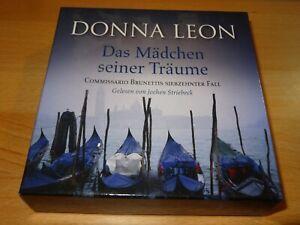 Hörbuch   Donna Leon  DAS MÄDCHEN SEINER TRÄUME    8 CD´s  @LOOK@