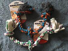 Dog Rope Bone Tug Toy Floss Chew
