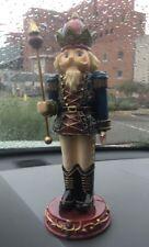 "Nib Roman, Inc Porcelain Nutcracker Figurine 10"" #38811 ""C"""