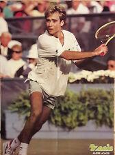POSTER TENNIS André AGASSI Année 1989  40 x 53 cm