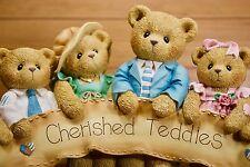 "Cherished Teddies Figurine ""Cherished Retailer"" 829870 NEW MINT Original Box"