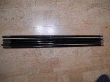 5 original alte Spazierstock Stöcke Fachausdruck Schuss. Gesamtlänge ca 87 cm