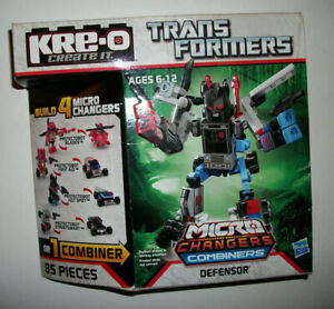 Kre-O Mini Figure Transformers Kreons G1 Kreo Micro-Changers Combiners DEFENSOR