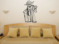 Yoda - Star Wars Jedi Master Light Saber Art Decal Sticker Picture Poster