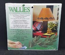 Laurel Leaves 25 Green Leaf Wallies Wallpaper Cutouts Stickers Art Decals 12919