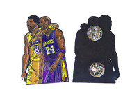 RIP LA GOAT Enamel Pin - 2 Inch Lapel Pin - Basketball Hoop Life - Los Angeles