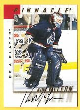 KIRK McLEAN 1997-98 Pinnacle Be a Player BAP AUTOGRAPH Vancouver Canucks Auto *