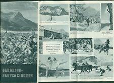 Reiseprospekt Garmisch-Partenkirchen Fotos 1950 Fotos  Events deutsch englisch
