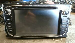FORD FOCUS MK2 CC 2006 - 2010 AUDIO STEREO SYSTEM DVD PLAYER REVERSE CAMERA