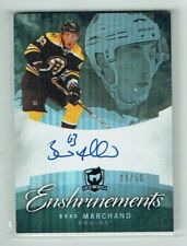 12-13 UD Upper Deck The Cup Enshrinements  Brad Marchand  /50  Auto