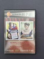 DVD MORENA PELIGROSA - SANGRE SOBRE EL SOL - 2 películas Clásicos del 7º arte