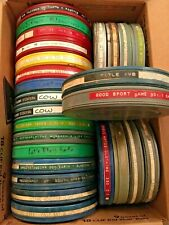 5, 16mm 400' FILM with canister random mixed, educational, cartoons from library