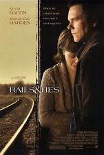 RAILS AND TIES Movie POSTER 27x40 Kevin Bacon Marcia Gay Harden Miles Heizer