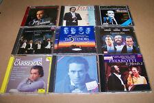 CD SAMMLUNG - PAVAROTTI - CARRERAS - 9 CD´S - CD SAMMLUNG