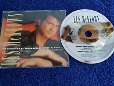 Les McKeown Maxi-CD Nobody Makes Me Crazy prod. Dieter Bohlen of Modern Talking