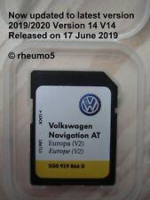 Genuine VW Discover Media Navigation AT Map UK Europe Sat Nav SD Card 2019 V14