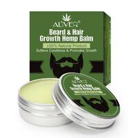 1Pcs Men Organic Beard Hemp Oil Balm Moustache Wax Styling Beeswax Gentlemen