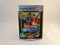 EYETOY PLAY SPORTS EYE TOY SONY PS2 PLAYSTATION 2 PAL ITALIANO ORIGINAL COMPLETO