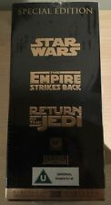 Star Wars Trilogy Special Edition New 3xVHS tape