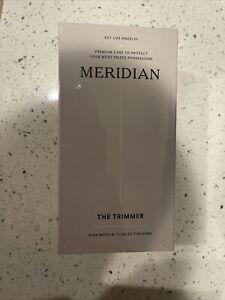 The Trimmer by Meridian: Electric Below-The-Belt Trimmer Built for Men - Black
