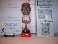 1999 SAM 500 HOME RUN FRANK ROBINSON CINCINNATI REDS BOBBLEHEAD #246/1000 MINT