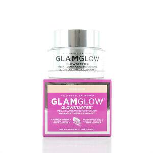 GlamGlow GlowStarter Mega Illuminating Moisturizer Nude Glow 1.7oz/50ml NEW IN B