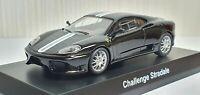 Kyosho 1/64 FERRARI CHALLENGE STRADALE BLACK diecast car model