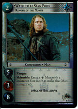 LORD OF THE RINGS TRADING CARD GAME FOIL PROMO CARD 0P129 WATCHER AT SARN FORD