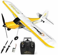 Top Race 4 Channel Rc Plane - Stunt Flying Remote Control Airplane Toy for