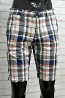 Tommy Hilfiger da Uomo Bermuda Taglia 30 Pantaloni Corti Short Man Custom Fit