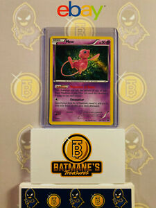 Mew 29/124 NM/M MINT XY Fates Collide Misprint Full Holofoil Rare Holo Pokemon