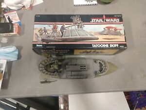 Star Wars Tatooine Skiff 1984 Complete W/Box No Map