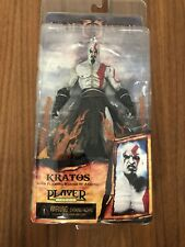 Neca God of War II Kratos with Flaming Blades Figure New Sealed in Box