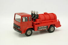 Norev Maxi Jet Car Code 3 1/43 - Renault Saviem Pompiers Citerne